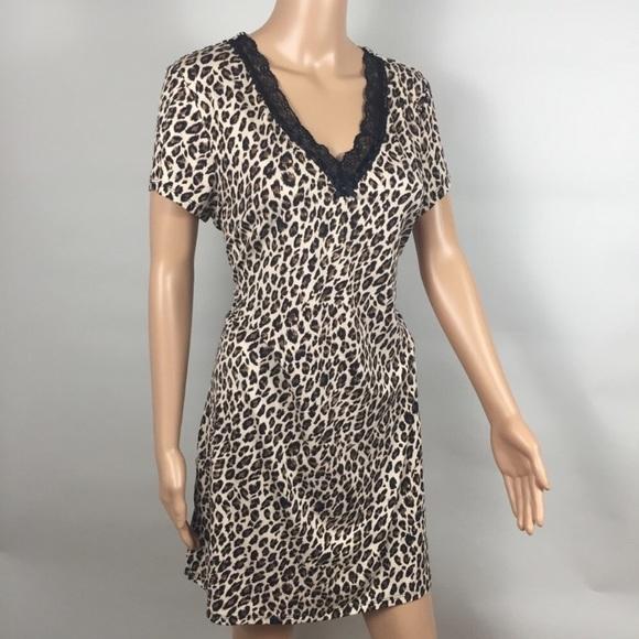 a07f7c9552 Linea Donatella Other - Linea Donarella Animal Print Night Gown